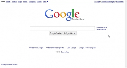 Google Logo 07.09.2010 IE7