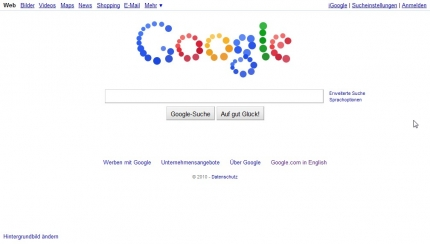 Google Logo 07.09.2010 Firefox