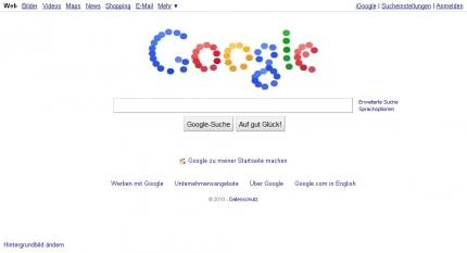 Google Logo 07.09.2010 IE8
