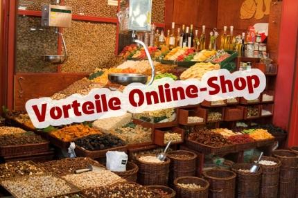 Vorteile Online-Shop