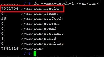 df - Linux Festplattenbelegung anzeigen