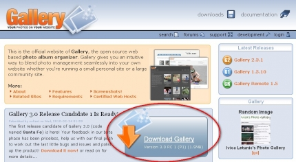 Download der Gallery 3