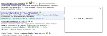 Google Vorschau: Vorschau nicht verfügbar