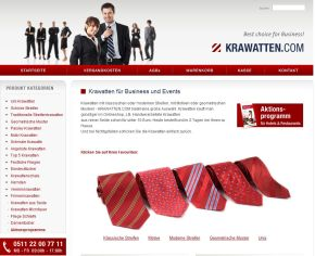 Krawatten für Business & Events